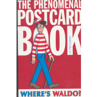 Waldo Phenomenal Postcard Book 威利在哪里?明信片书ISBN9780763654160