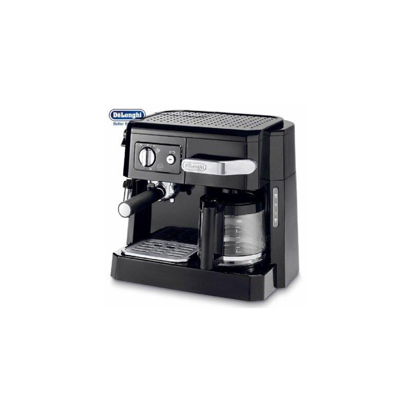 Delonghi/德龙 BCO410半自动意式美式咖啡机15帕泵压奶泡家用商用 泵压/滴滤式 二合一  卡布基诺系统
