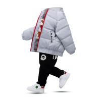 韩版秋冬装男童棉衣2017新款儿童宝宝衣服加厚棉袄外套潮