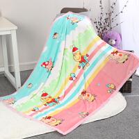 幼儿园小毛毯新生儿婴儿推车盖毯宝宝毯子儿童空调毯午睡毯夏薄款