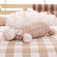 新品出口毛绒玩具韩国圆球羊公仔羊球形小羊安抚娃娃 如图