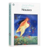 恶心 英文原版小说 Nausea 存在与自由 自我意识 法国存在主义哲学创始人萨特 英文版进口书籍 Penguin C