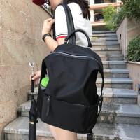 2018新款韩版潮双肩包 女牛津布大容量百搭书包旅行包旅游帆布背包
