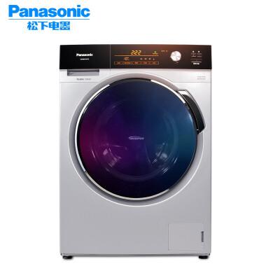 松下(Panasonic)XQG100-E1235 10公斤 罗密欧系列家用全自动大容量变频滚筒洗衣机 变频电机,节能静音,高温除菌衣物更洁净
