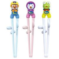 啵乐乐韩国进口儿童塑料学习筷子三款颜色可选