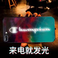 来电闪苹果8plus手机壳7plus会发光的玻璃iphone7新款闪光8p潮牌星空xmax亮光i8欧 4.7寸 苹果7
