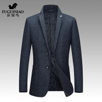 新年优惠【NEW】西装修身单西士羊毛呢小西装韩版休闲西服加厚正装