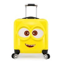 小黄人儿童行李箱拉杆箱女20寸万向轮学生旅行箱登机箱男卡通拖箱