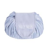 化妆包韩国大容量懒人收纳袋 抽绳旅行便携式防水洗漱包
