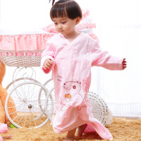婴儿睡袋春夏款宝宝成长型儿童防踢被 0-3岁
