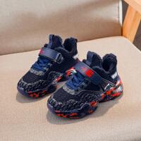 【1件2.5折:68元】贵人鸟男童棉鞋加绒加厚保暖儿童鞋子2019年新款秋冬季男孩运动鞋