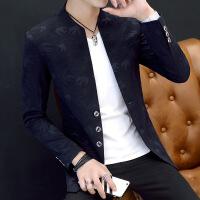 男士西装韩版修身上衣青年帅气小西服单件秋季学生薄款单西外套潮