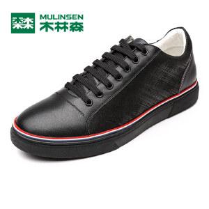 木林森男鞋 男士软底透气舒适运动休闲鞋 05167664