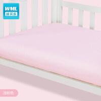 纯棉床笠婴儿床全棉床垫套新生儿宝宝儿童床品精梳棉可定做a372