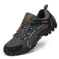 秋冬季新款男士户外运动休闲男鞋登山鞋耐磨减震防滑徒步鞋旅游鞋