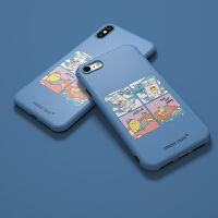 创意真实的我们iPhone6s/7/8plus苹果10X全包边硅胶手机软壳