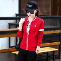 卫衣2018新款女春秋装运动服套装时尚韩版跑步休闲运动装女三件套