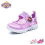迪士尼Disney童鞋18新款儿童运动鞋透气网面休闲鞋小公主单网户外鞋 (5-10岁可选) DS2762