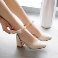儿童高跟鞋女童凉鞋夏季小女孩学生表演出鞋中大童公主鞋