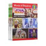 (100减20)【19册】 Disney Star Wars World of Reading 星球大战科幻故事 迪士