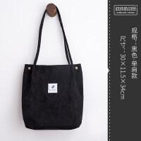 手提袋ulzzang帆布包女单肩文艺小清新学生大容量韩版原宿购物袋 其他