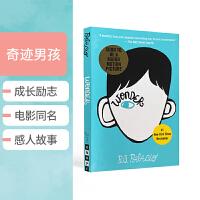 英文原版经典小说 Wonder 奇迹男孩 少年励志青春书籍 众多老师推荐成长读物 RJ Palacio 帕拉秋 同名电