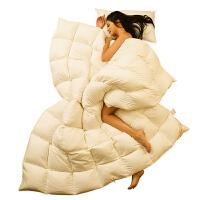 羽绒被加厚冬被春秋被保暖被子被芯单双人床冬季白鸭绒被特惠