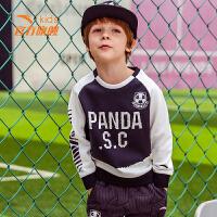 小童套头卫衣新款男小童套头衫 儿童卫衣