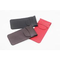 Sony索尼录音笔保护套 收纳包袋录音棒PCM-A10皮套防刮 黑色 有挂扣
