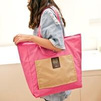 折叠便携旅行袋手提行李包多功能大容量防水加厚旅行单肩包行李袋 大