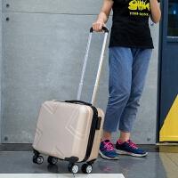 韩版18寸小行李箱女迷你飞机箱17寸小密码箱男学生拉杆小子母箱包