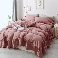 ins少女床上四件套全棉纯棉公主风网红床单秋冬被套罩宿舍4三件套