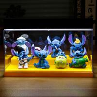 动漫星际Stitch史迪奇 史迪仔公仔模型玩具摆件礼品 +灯饰