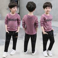 男童T恤秋装潮童装儿童卫衣男孩长袖打底衫