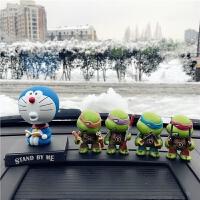 2018新款摆件 Q版忍者神龟公仔手办模型玩具 汽车载摆件车饰品