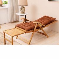 竹躺椅折叠椅子午休午睡椅靠椅竹椅靠背沙滩阳台老人实木孕妇凉椅