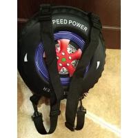 韩国儿童书包可爱幼儿园斜挎包 轮胎玩具男童1-3-6周岁双肩背包潮 蓝轮 两根背带双肩 可斜跨和双肩