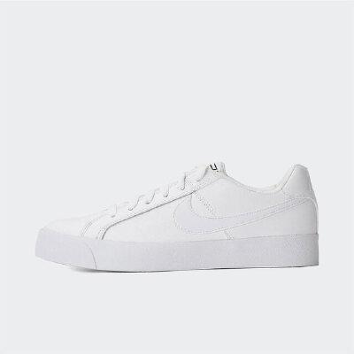 Nike耐克2019年新款女子小白鞋潮流简约低帮休闲复刻鞋AO2810-105 秋装尚新 潮品来袭 正品保证
