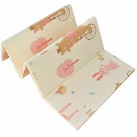 宝宝爬行垫加厚可折叠 婴儿童爬爬垫家用泡沫地垫 客厅游戏毯拼接 抖音