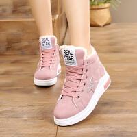 大童儿童鞋子板鞋女童女孩子小学生棉鞋厚底运动鞋12-13-15岁韩版