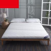 榻榻米床垫订做学生寝室折叠床垫子定制铺床褥宿舍单人床定制尺寸 白色针织加厚款 约10CM