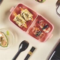 美国btif 饭盒上班族带盖可微波炉加热便当盒便携饭菜隔断 保鲜盒
