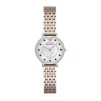 阿玛尼(Emporio Armani)手表 钢制表带商务时尚休闲石英女士腕表 AR2515