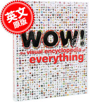 [现货]英文原版 Wow!:The Visual Encyclopedia of Everything 百科全书