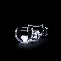 【当当自营】谜家 玻璃茶杯喝茶杯办公杯红茶绿茶杯茶具配件喝水杯 闻香杯6只装