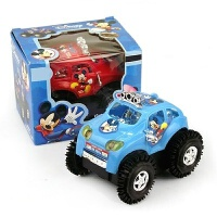 电动翻斗车 米奇翻斗车儿童 电动玩具 电动米奇车玩具批�l 抖音 颜色混发