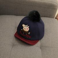 男宝宝帽子秋冬季韩版潮男童鸭舌帽婴儿1-3岁小孩2儿童棒球帽4女0 均码