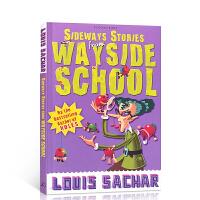 【全店300减100】英文原版 歪歪路小学 Sideways Stories from Wayside School 进