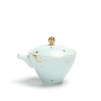 户外日式泡茶壶陶瓷过滤茶杯 旅行功夫茶具套装便携快客杯一壶二杯