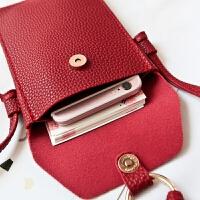 韩版新款小包包二层零钱手机袋单肩小包流苏斜挎手机包迷你女包潮